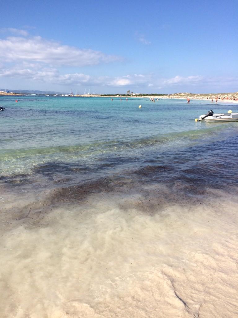 フォルメンテーラ島の海