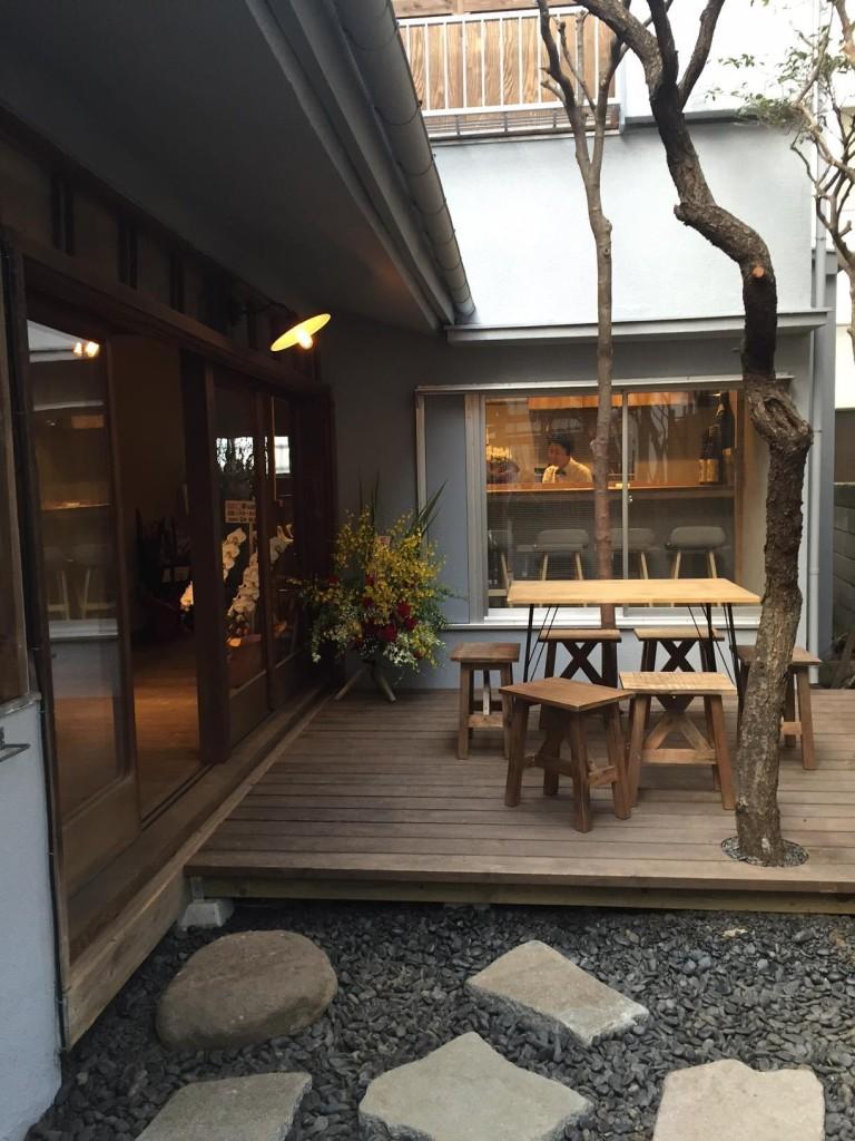 裏参道ガーデンの庭