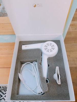 フォリスティックキュアドライヤーモイスチャー(白)箱