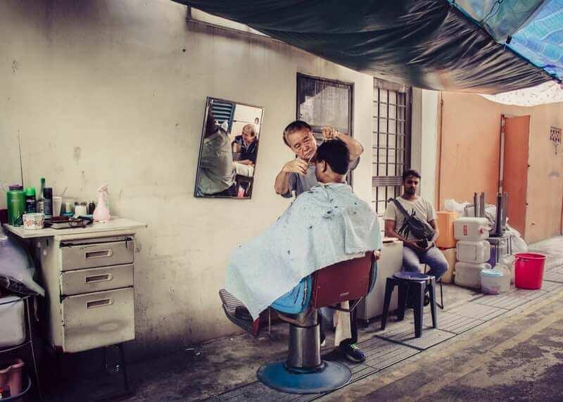 メンズヘアNG